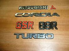 Mitsubishi Cordia BODY  BADGES   GSR TURBO Dandenong Greater Dandenong Preview