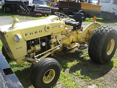 Ford 4410 Farm Tractor