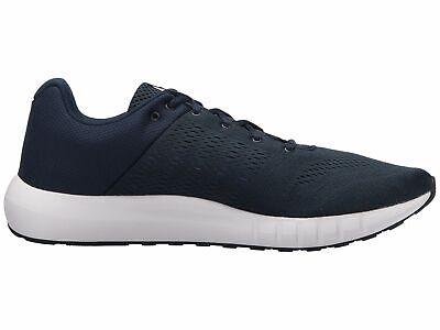 Under Armour 3000011 402 Micro G Pursuit Academy Blue Black Men's Running Shoes
