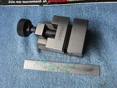 Mitutoyo Vise1 930-611 Machinist Toolmaker 2.36 X1.97 X3.54 Grind Inspection