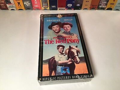 The Red Pony New Family Western VHS 1949 Robert Mitchum 45th Anniversary Edition