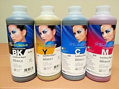 Inktec Sublimation Ink-sublinova Rapid Set - 4liters
