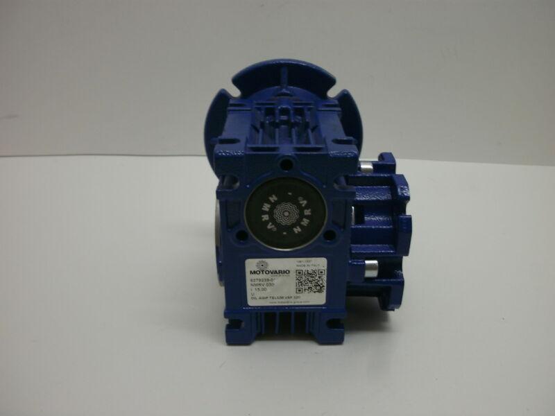 MOTOVARIO NMRV 030 WORM GEARBOX SPEED REDUCER I 15,00 U 6279239-010 VSF 320 NNB