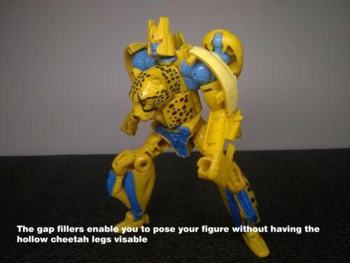 GAP FILLERS for Transformers Netflix/Kingdom Cheetor & Shadow Panther JRC Design