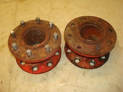 1962 Fordson Super Dexta Tractor Axle Extensions Wheel Spacers Ford 8n 600 800