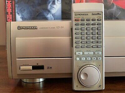 Pioneer LD-S9 NTSC Reference Laserdisc player