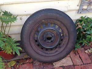Rim and tyre 185/65/14 Fremantle Fremantle Area Preview
