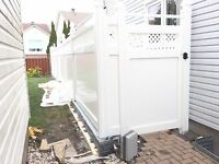 Quality PVC Fences Lifetime product warranty.