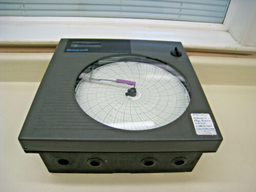 Honeywell DR4300 Effluent Flow Circular Chart Recorder Used Free Shipping