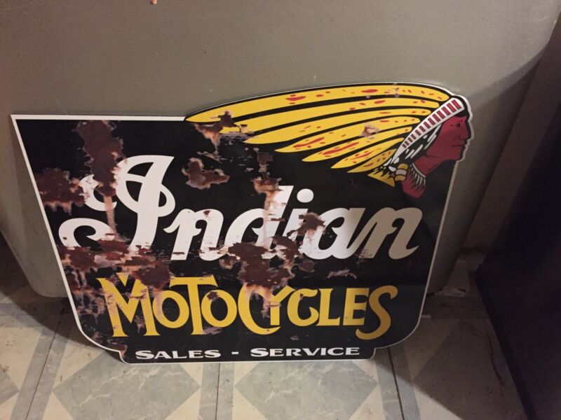 MOTORCYCLES Sales Service SIGN