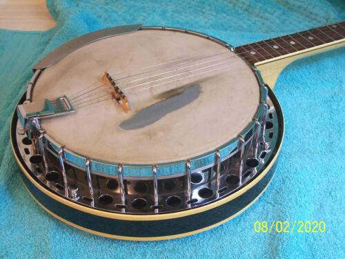 1973 Fender Allegro 5 string Banjo w/ resonator lightly used cond. W/ hard case