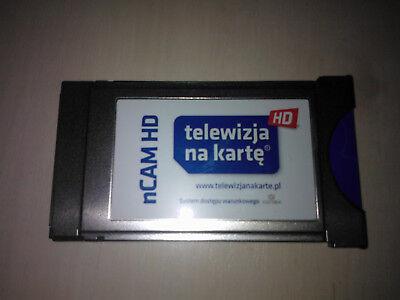 TNK HD Telewizja na kartę MODUL NCAM gratis 12 miesięcy OGLĄDANIA CYFRA POLSAT