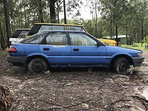 Toyota Corolla Seca AE82 automatic Clarence Town Dungog Area Preview