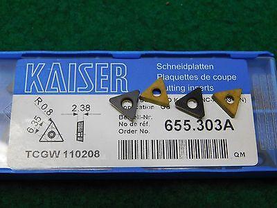 Kennametal TCMT 2152-UF 2 2 21.52 110208 KC5010 Boring Bar Carbide Inserts 1.5