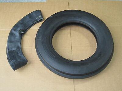 5.0-15 Tri Tread Front Tire Innertube Tractor Fiat 5.0x15 500x15 500-15 3 Rib