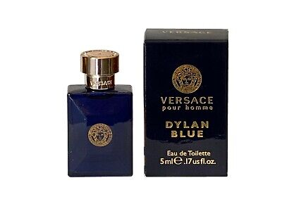 Mini Miniature Dylan Blue by Versace 5ml EDT Men Travel Perfume