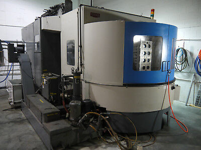 Toyoda Fa-630 Hmc Cnc Horizontal Mill 1998 Fanuc 16i Cat50 90 Tool Changer