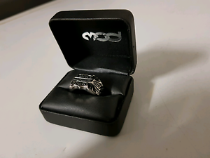 Harley davidson size 13 stainless steel ring Bellbird Park Ipswich City Preview
