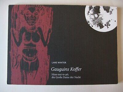 Gauguins Koffer - Lars Winter - Leporello mit Schraffur-Skizze v. Timo Fülber