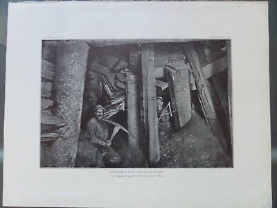 Vermilion Iron Ore Basin Ely Scrammers In Mine Minnesota 1903