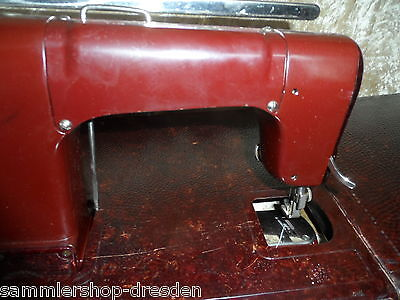 21536 MEWA Freia DDR Nähmaschine Koffer bakelit sewing machine Instruction manua