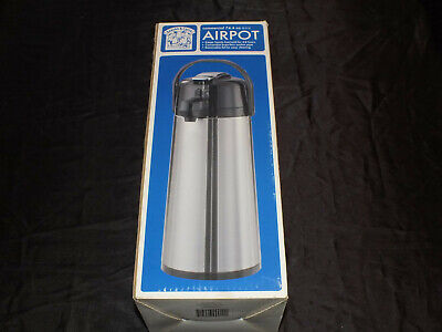 Bakers Chefs Commercial 74.4 Oz Airpot - Nib