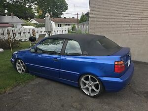 1997  vw cabrio convertible swap trade or 1500$