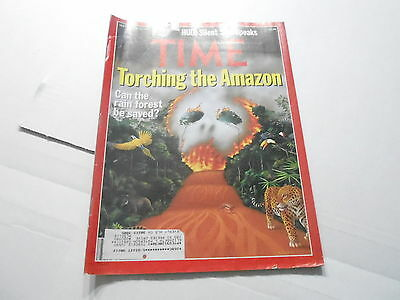 Sept 18 1989 Time News Magazine   Torching The Amazon Jungle