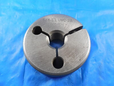 58 11 Unc 2a Before Plate Thread Ring Gage .625 No Go Only P.d. .5581 Bp