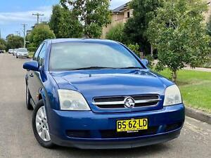 2003 Holden Vectra CD ZC (4CYL) 4 Speed Automatic Hatchback Low Kms 4months Rego