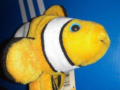 PETCO PAW PALS CALYPSO CLOWN FISH BEANBAG PLUSH (Clown Fish Bean Bag)