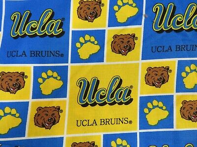 UCLA Bruins Cotton 020 Pattern Fabric 32 Inches