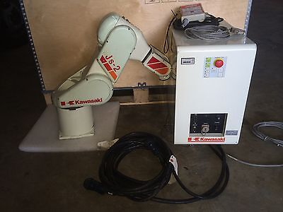 Kawasaki Js-2 Robot Arm With Controller And Tech