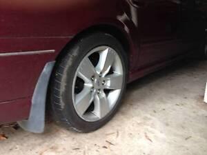 Ford Falcon BF XR6 or XR8 wheels (5) Karabar Queanbeyan Area Preview