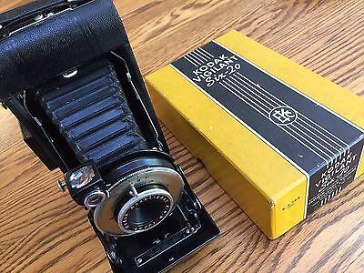 Kodak Vigilant Six-20 Camera in Box Exc++
