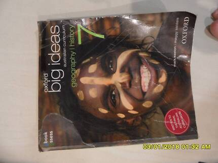 Yr 7 Textbooks (Maths, Science, Geography & History)
