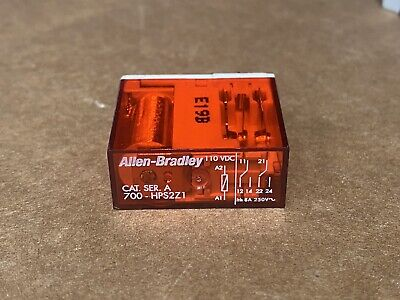 NEW Allen Bradley 8-Pin Coil Relay Module 700-HPS2Z1 Series A FAST SHIPPING