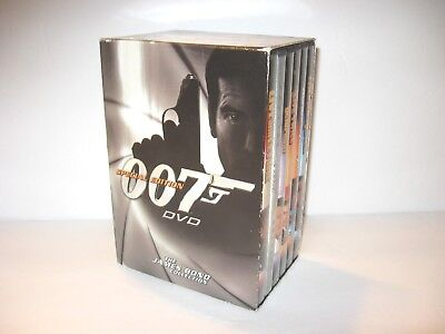 The James Bond Collection 007 Special Edition 6 DVD Box Set Excellent Condition