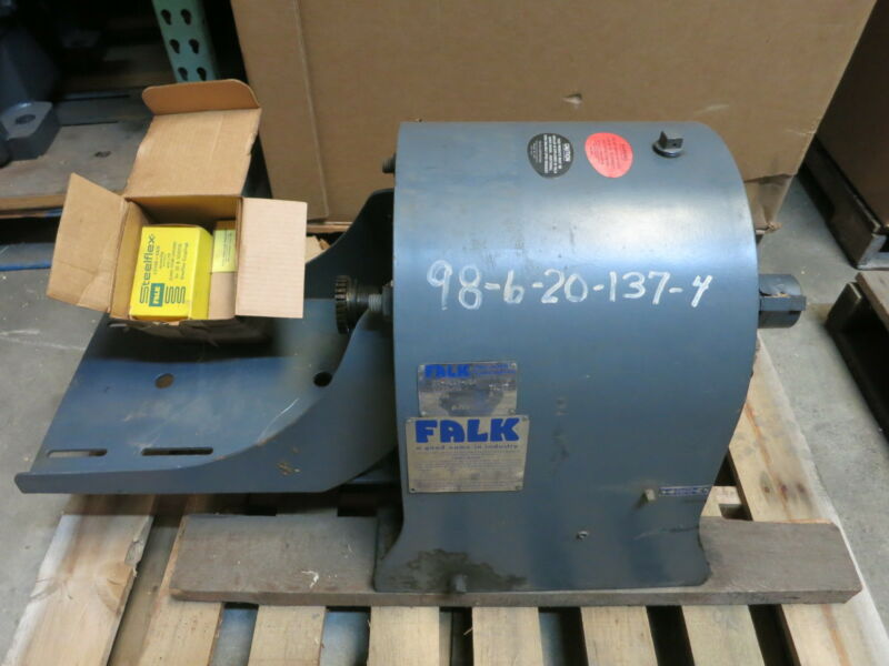REBUILT Falk 22-4EZ3-06A 2HP 71.37 Ratio 25 RPM Enclosed Gear Drive Reducer 06A5