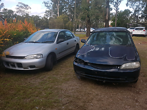 1996 ford laser kj II and donor car Cessnock Cessnock Area Preview