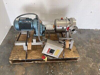 Apv Dw403920 2 Sanitary Pump With Sew Eurodrive Motor