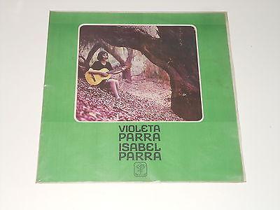 Violeta Parra - Isabel Parra - LP - CHILE 1970 - Pena De Los Parra DCP-7