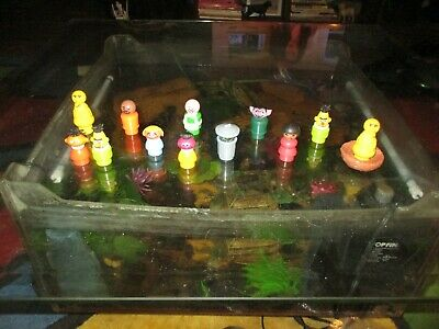 Vintage Sesame Street Fisher Price Little People Figures