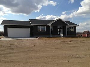 New custom home 1485sq'ft. With 24x24 garage