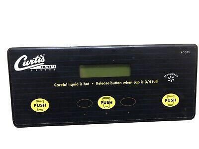 Wilbur Curtis Pcgt3 Wc-37126 Wc-788 Cappuccino Machine Ucm Control Board