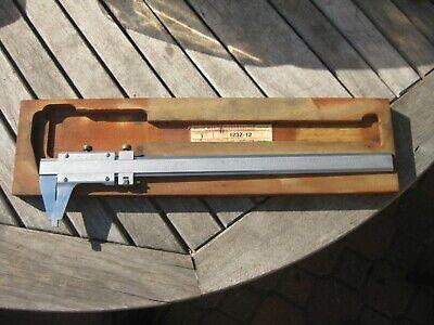Starrett 123z-12 Master Vernier Caliper - 12