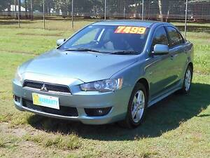 2008 Mitsubishi Lancer Sedan Bungalow Cairns City Preview