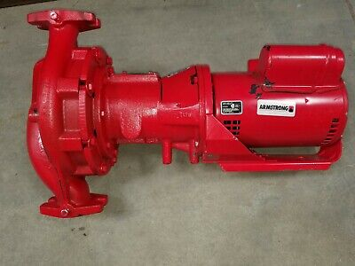 Armstrong Pumps 34 Hp Cast Iron In Line Centrifugal Hot Water Circulator Pump -