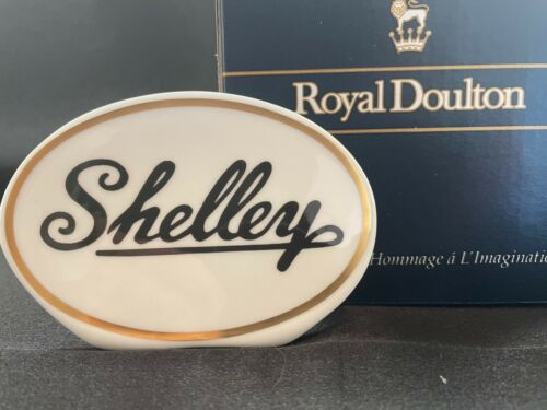 SHELLEY  MARQUIS - ADVERTISING SIGN FOR SHELLEY CHINA    *  RARE  NEW IN BOX *