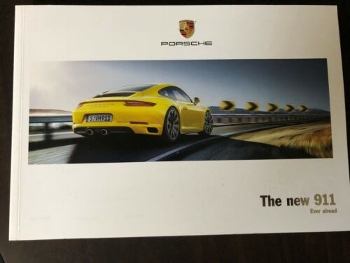 The New 911 Sales Brochure 2017